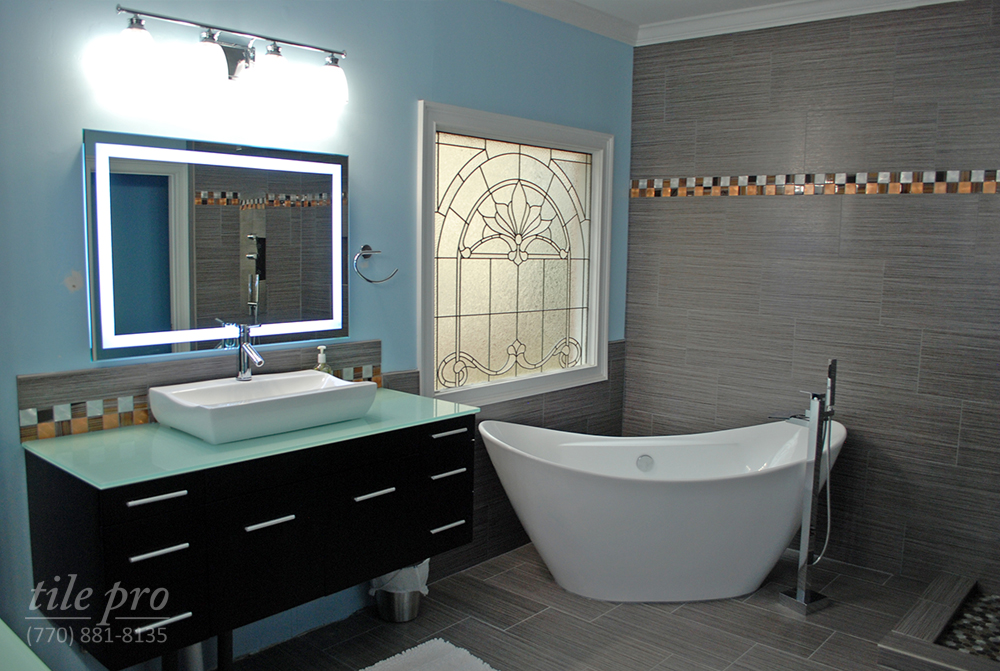 Professional bathroom remodeling shower renovation design for Professional bathroom renovations