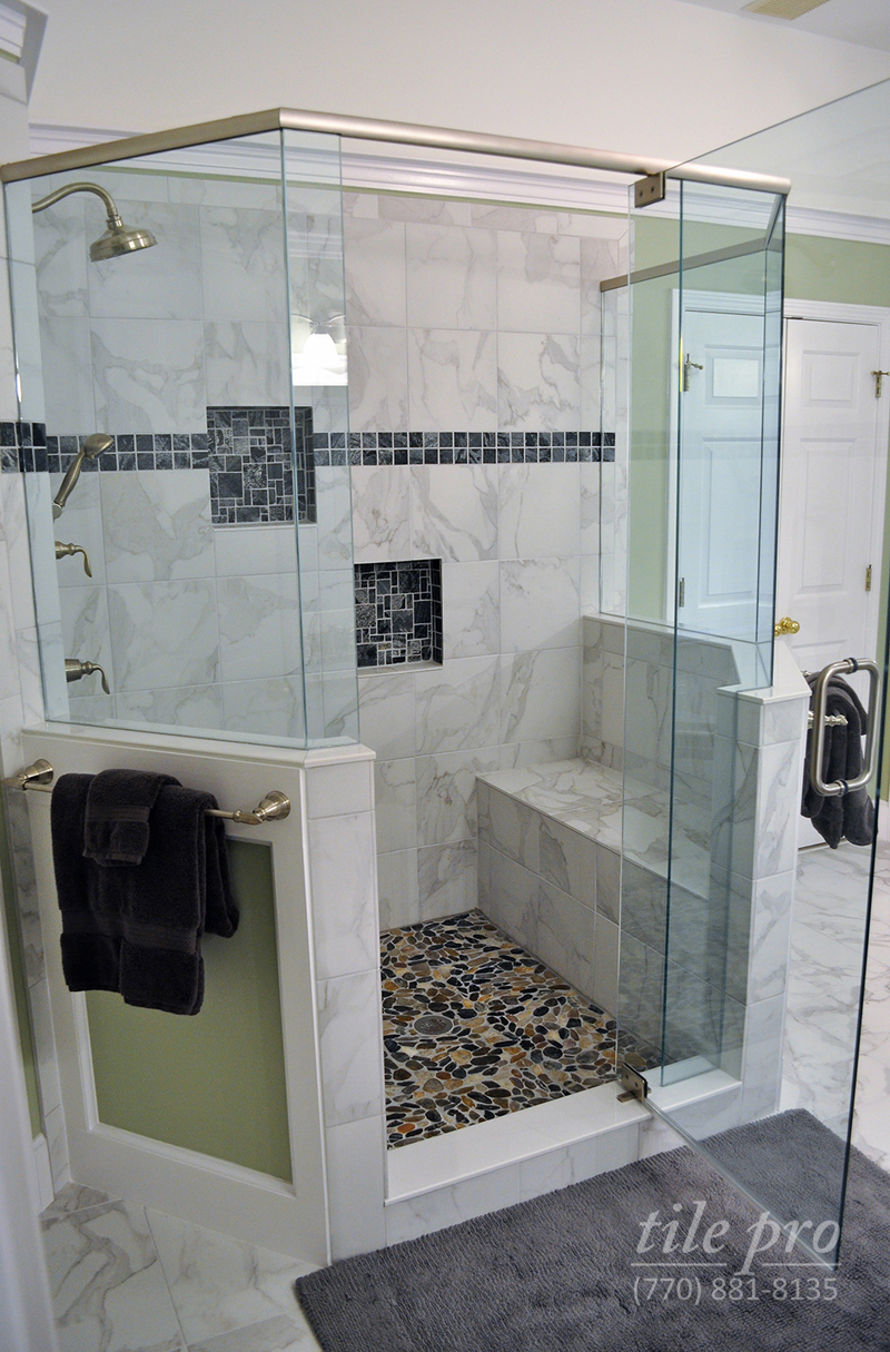 Shower Renovation professional bathroom remodeling | shower renovation | design