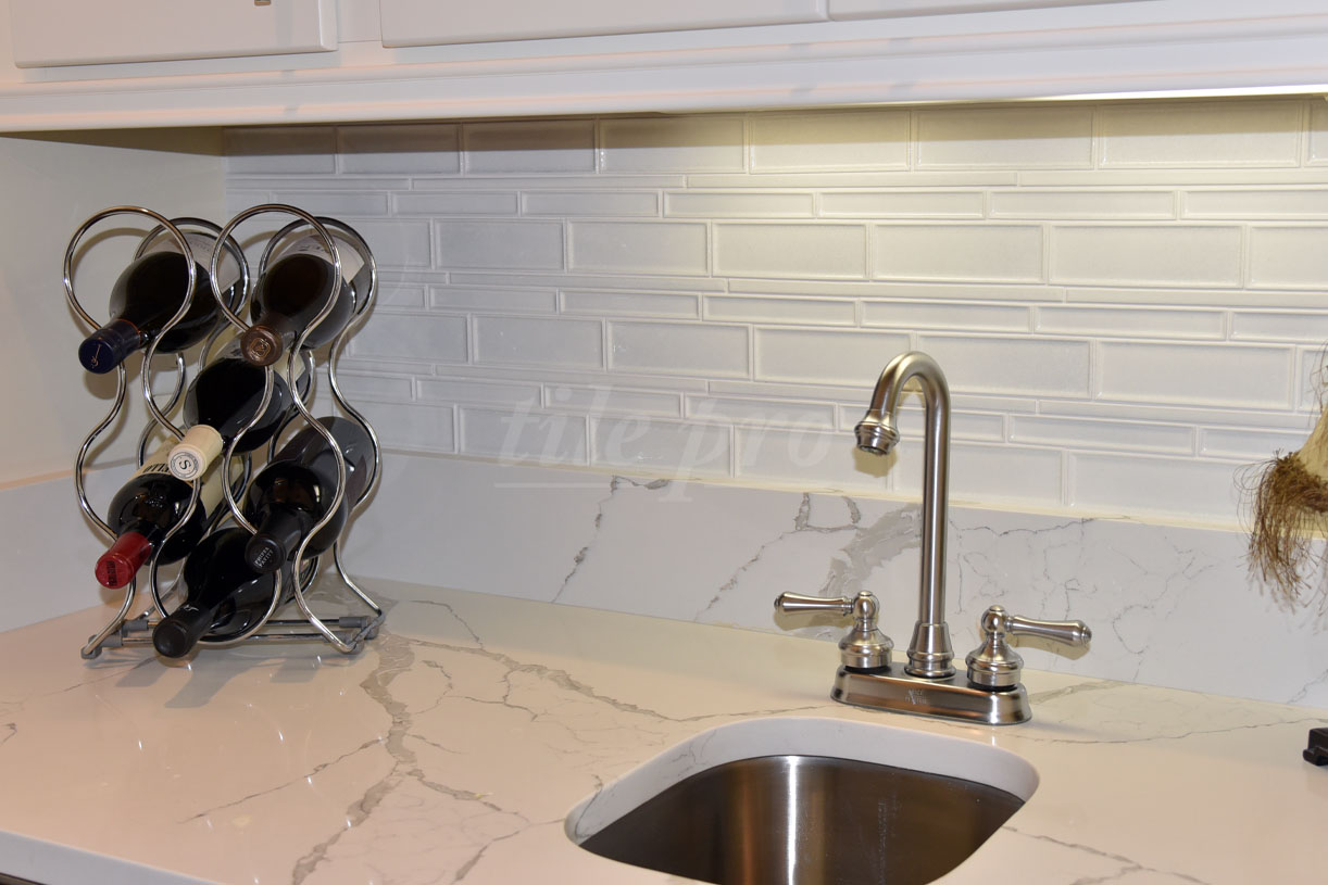 subway tile installation