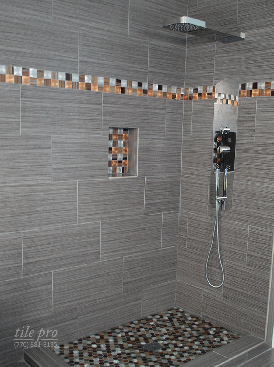 Shower surround tile tile design ideas for Tile shower surround